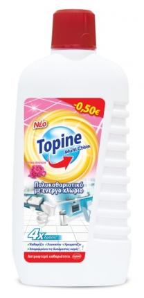TOPINE MULTI CHLOR ΜΕΓ. ΕΠΙΦ. FLORAL 900ML -0,50€