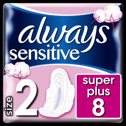 Always Σερβιέτες Sensitive Ultra Long Plus (8 τεμ)