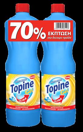 TOPINE GEL ΧΛΩΡΙΟ OCEAN 1250ML SET TO 2o TMX -70%
