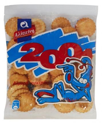 ΑΛΛΑΤΙΝΗ CRACKERS 2001 10X40g