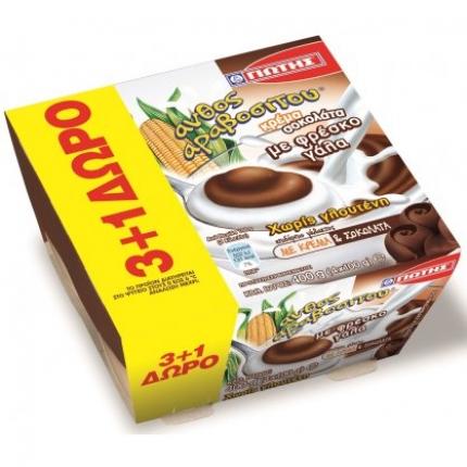 Γιώτης Άνθος Αραβοσίτου Κρέμα Σοκολάτα 3+1 Δώρο
