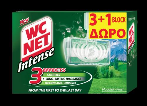 NET WC INTENSE BLOCK MOUNTAIN FRESH (3+1) 4x34gr