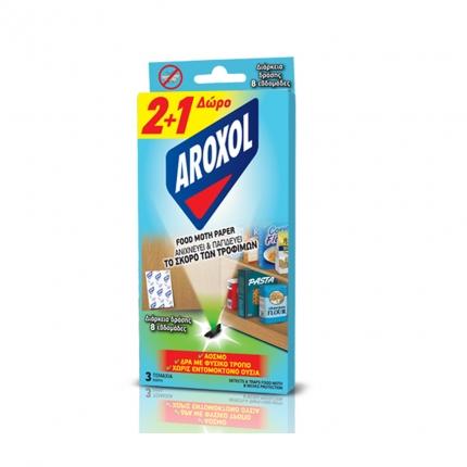 AROXOL FOOD MOTH PAPER (2+1ΔΩΡΟ)