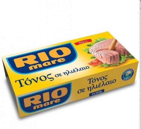 RIO MARE ΤΟΝΟΣ ΣΕ ΗΛΙΕΛΑΙΟ 2x160GR