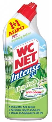Net WC Gel Lime Fresh 750ml (1+1 Δώρο)