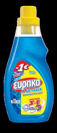 ΕΥΡΗΚΑ ANTIKALK GEL 750ML -1€
