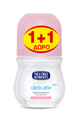 NEUTRO ROLL ON POWDER FRESH 1+1 ΔΩΡΟ
