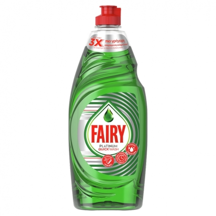 FAIRY PLATINUM QUICKWASH 16X654ML