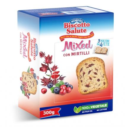 BISCOTTO SALUTE ΦΡΥΓΑΝΙΑ ΜΕ GRANBERRIES 14x300GR