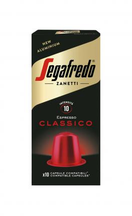 SEGAFREDO COFFEE CAPSULES CLASSICO NESPRESSO COMP 51g