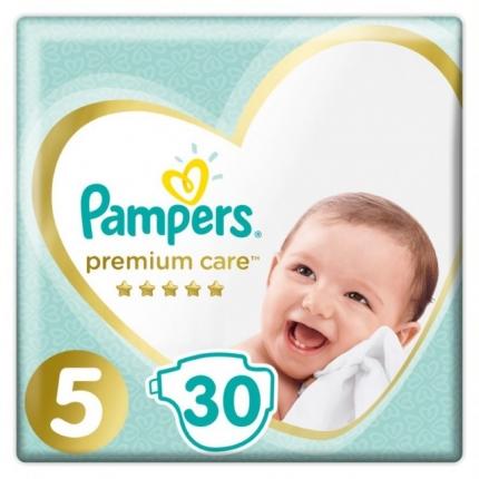 Pampers Premium Care Μέγεθος 5 (11-18kg), 30 Πάνες