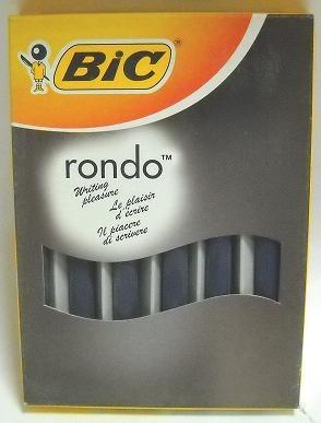 BIC  ΜΟΛΥΒΙ RONDO MP 05 BOX BLUE