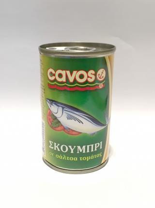 CAVOS ΣΚΟΥΜΠΡΙ ΣΕ ΣΑΛΤΣΑ 100x155gr