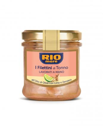 RIO MARE ΦΙΛΕΤA ΤΟΝΟΥ ΣΕ ΕΛΑΙΟΛΑΔΟ  ΜΕ ΜΟΣΧΟΛΕΜΟΝΟ & ΤΖΙΝΤΖΕΡ 12x130g.