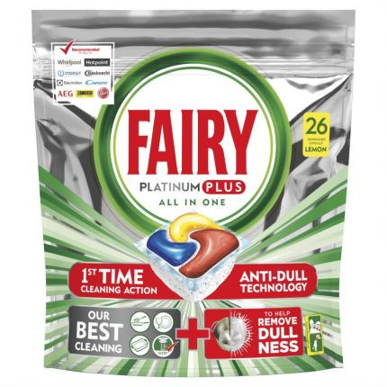 FAIRY CAPS PLATINUM PLUS ΛΕΜΟΝΙ 5X26