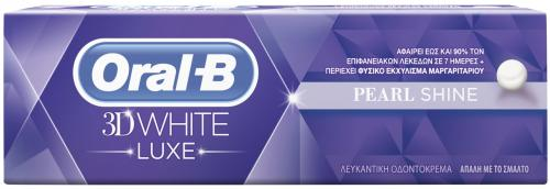 ORAL B WHITE LUXE PEARL SHINE 75 ML