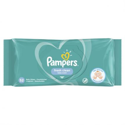 PAMPERS WIPES FRESH 12X52