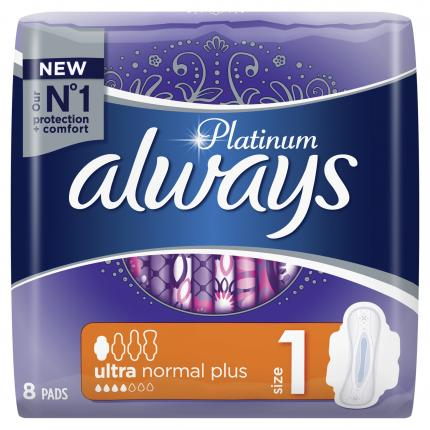 ALWAYS ULTRA PLATINUM NORMAL SP 16X8