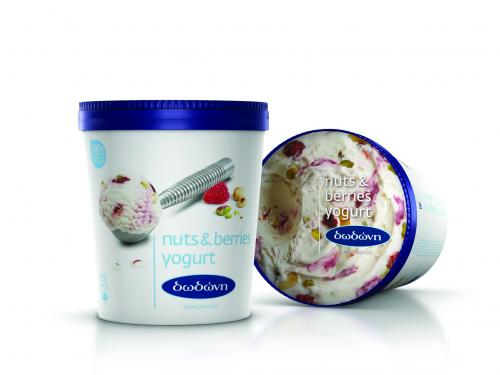 ΔΩΔΩΝΗ NUTS & BERRIES YOGURT 6x750ml