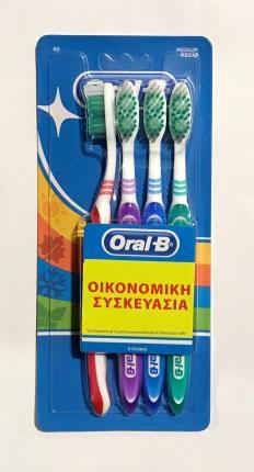 ORAL-B 40MED QUATTRO PACK 6x1