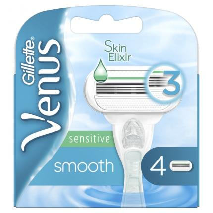 GILLETTE VENUS SMOOTH SENS ΑΝΤ/ΚΑ 4ΤΜΧ