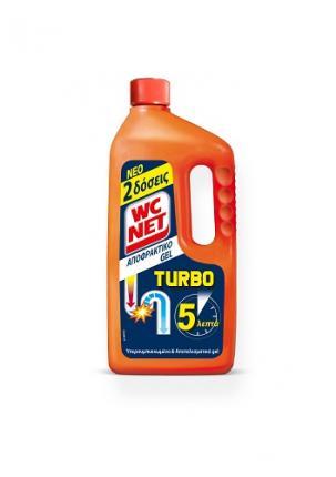 NET WC ΑΠΟΦΡΑΚΤΙΚΟ GEL TURBO 12x1000 ml.