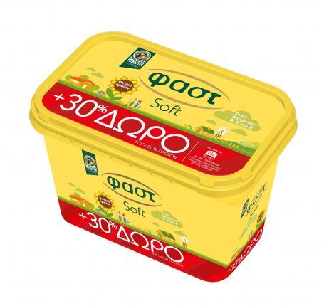 Μινέρβα Fast soft 500gr + 30% δωρεάν προϊόν