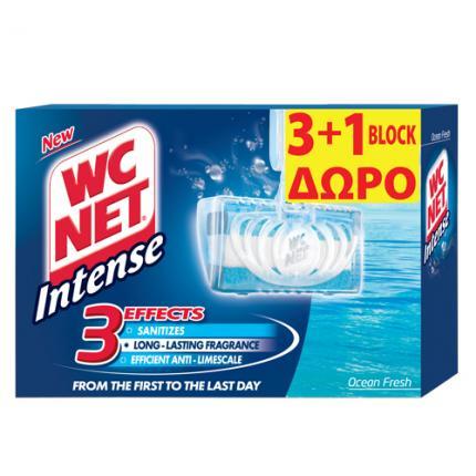 NET WC INTENSE BLOCK OCEAN FRESH 3+1 (4x34g)