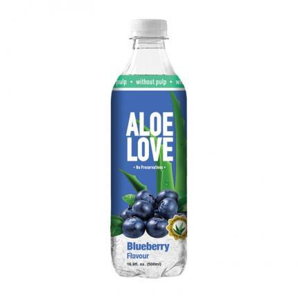 ALOE LOVE DRINK BLUEBERRY (Χωρις Κομματια) 12x500ml