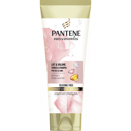 PANTENE CONDITIONER ROSE WATER LIFT&VOL 200ML