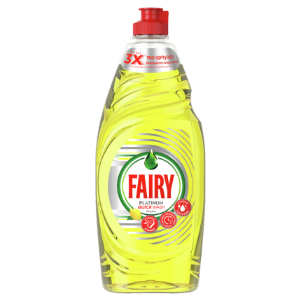 FAIRY PLATINUM QUICKWASH ΛΕΜΟΝΙ 16X654ML