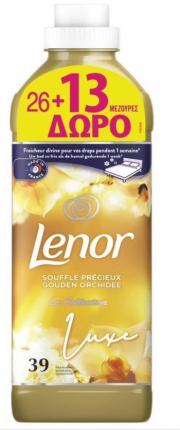 Lenor Gold Orchid Μαλακτικό Ρούχων 39 Μεζούρες (26+13 δώρο)
