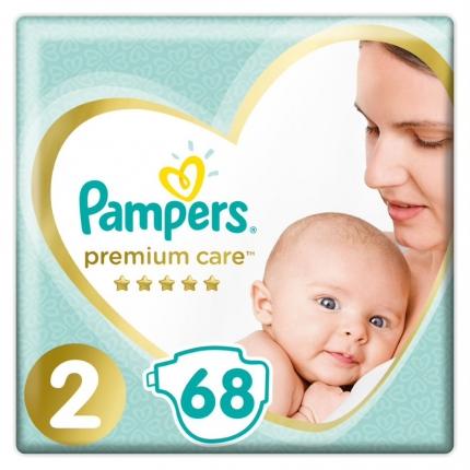 Pampers Premium Care Μέγεθος 2 (4-8kg), 68 Πάνες