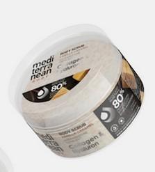 Mediterranean Body Scrub Vanilla Caramel Κολλαγόνο & Υαλουρονικό 250ML