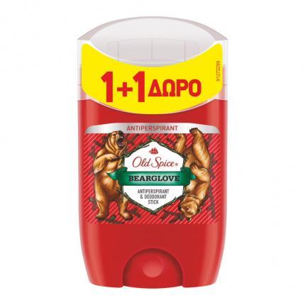 OLD SPICE AP STICK BEAR 50ML(1+1 ΔΩΡΟ)