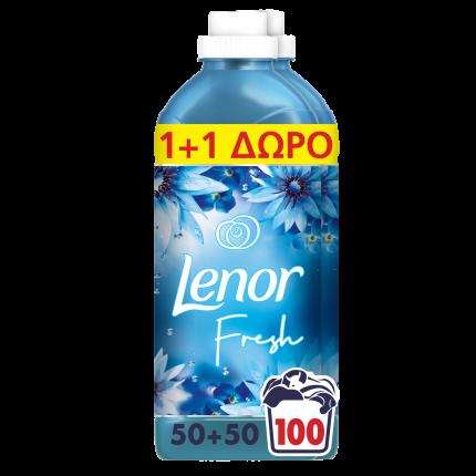 Lenor Ocean Escape Μαλακτικό Ρούχων 100 Μεζούρες, (50+50 μεζ δώρο), 2.3L