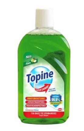 TOPINE TOTAL POWER GREEN APPLE FLOOR 1L