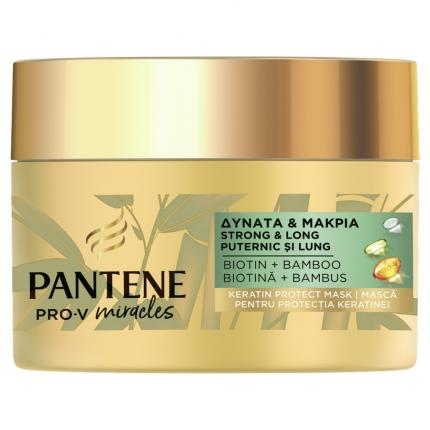 PANTENE ΜΑΣΚΑ BAMBO STRONG&LONG 6X160ML