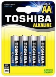 TOSHIBA ΜΠΑΤΑΡΙΑ LR6 BP4 ΜΠΛΕ 4 ΤΕΜΑΧΙΑ (ΑΑ)