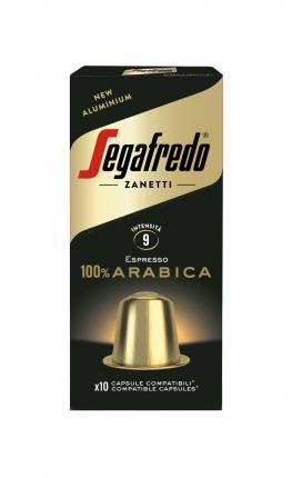 SEGAFREDO COFFEE CAPSULES 100% ARABICA NESPRESSO COMP 51g