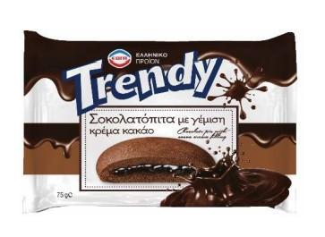 TRENDY ΣΟΚΟΛΑΤΟΠΙΤΑ 2Χ10Χ75ΓΡ